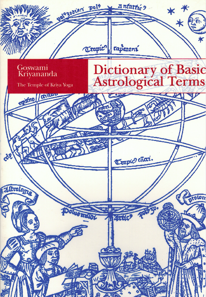 Astrology Books - TEMPLE OF KRIYA YOGA